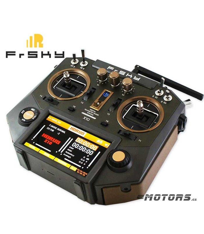 FrSky X10 HORUS MOD1 Amber + R9M +kufr