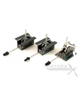 GT450PRO Horizontální/vertikální ocasní plochy - Carbon