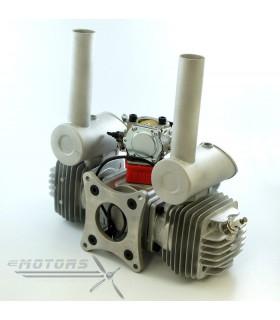 DLE60 benzínový dvouválcový modelářský motor