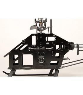 Smršťovací bužírka 4mm – černá