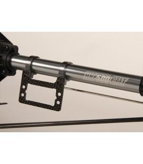 Smršťovací bužírka 40mm – černá